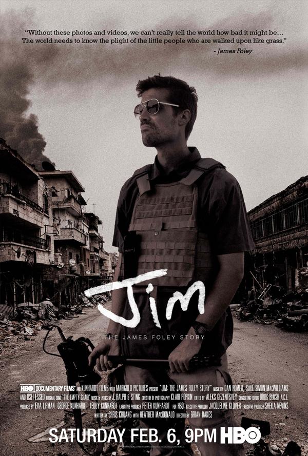 dan romer score composer jim the james foley story film documentary hbo
